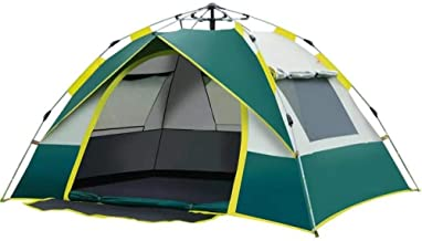 Agilelid Family Outdoors Tent, Waterproof Camping, Instant Automatic Pop-up Design, Travel Hiking Beach Tent, Anti-UV Stab...