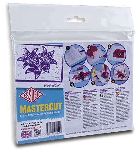 Essdee Mastercut snijblok 200 x 150 x 4 mm (2 blokken)