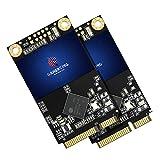 Gamerking SSD mSATA da 128 GB, hard disk interno a stato solido ad alte prestazioni, per computer desktop, con SSD (128 GB, 2 unità)