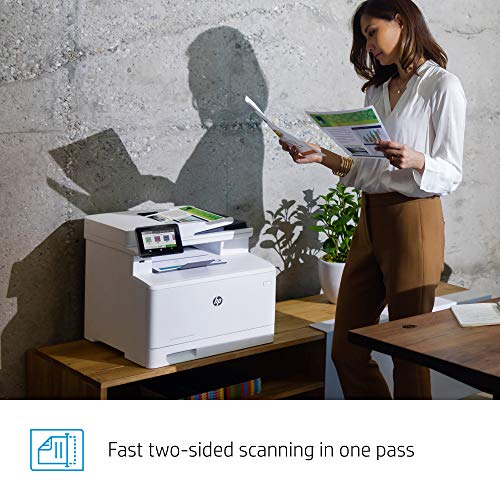 HP Color LaserJet Pro Multifunction M479fdw Wireless Laser Printer with One-Year, Next-Business Day, Onsite Warranty, Works with Alexa (W1A80A) Photo #12