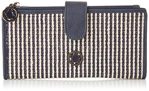 ctta caminatta Conchas, Cartera para Mujer, Azul (Marino), 2x10x19 cm (W x...