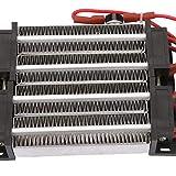 Calentador de aire de cerámica, calentador de aire PTC, calentador eléctrico de aire de cerámica con calentador eléctrico automático de temperatura constante que ahorra energía para aire(220V1000W)