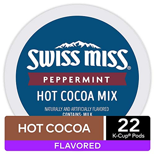 Swiss Miss Peppermint Hot Cocoa K-Cups (16 Count)