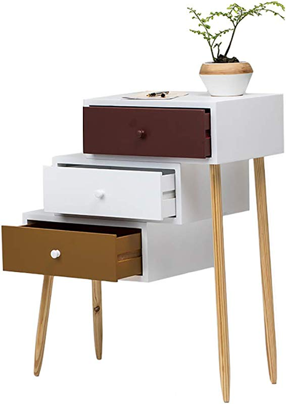 Bedside Table Bedroom Locker Drawer Type Simple Modern Drawers Personality Creative Cabinet Storage Cabinet Drawer Cabinet End Tables Size 693472 5cm