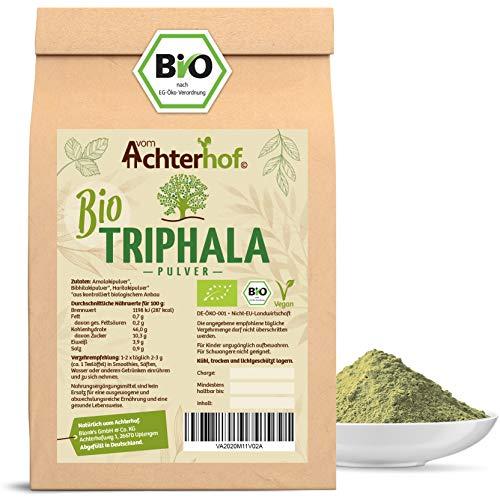 Triphala Pulver Bio (100g) Ayurveda vom Achterhof