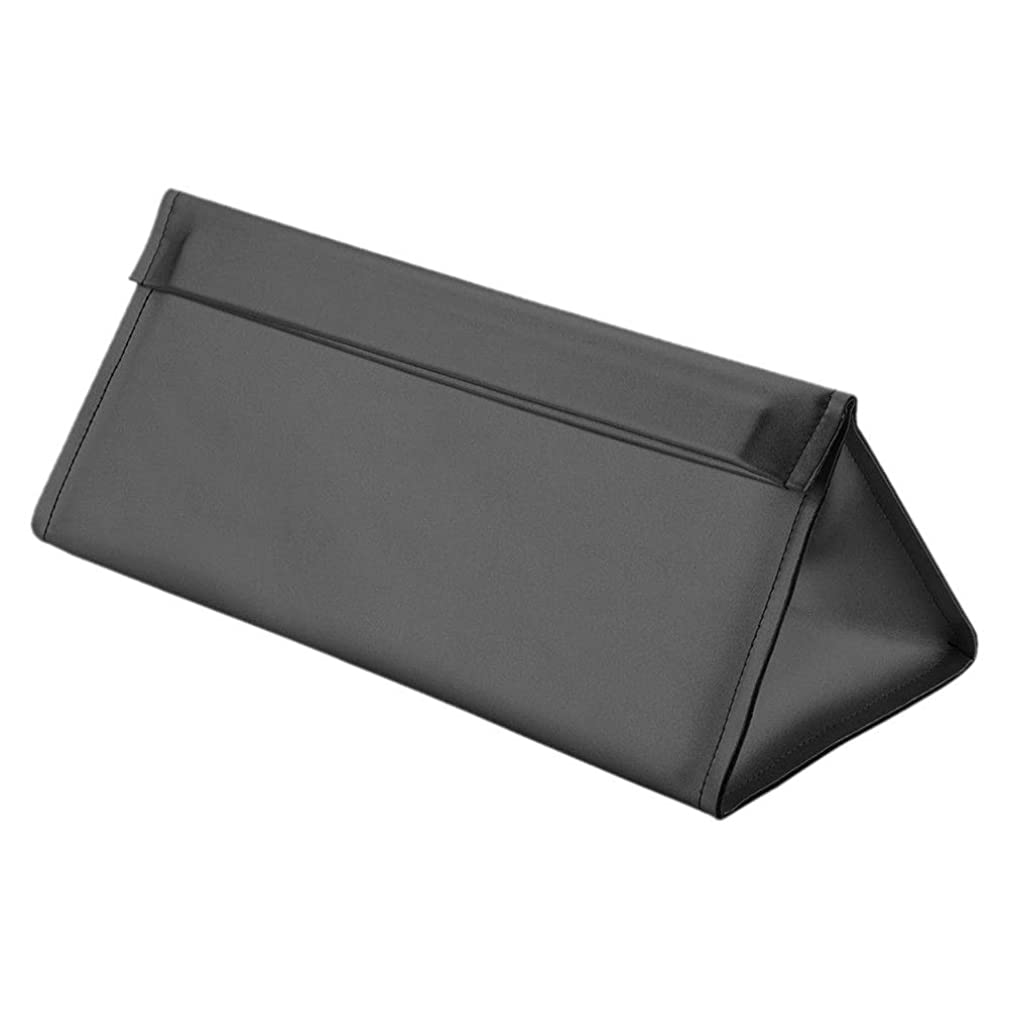 調整可能塩辛い暖炉Hzjundasi 旅行スリーブケース 収納バッグ Dyson Airwrap対応 PUレザー 保護ケース 防水 カバー Dyson Supersonicヘアドライヤー用(ブラック)