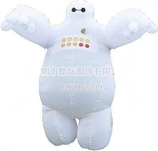 Mister Bear Baymax Mascot Adult Inflatable Big Hero 6 Fantasia Cosplay Costumes Funny Dress