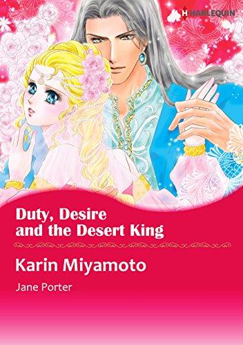 Duty, Desire and the Desert King: Harlequin comics (English Edition)