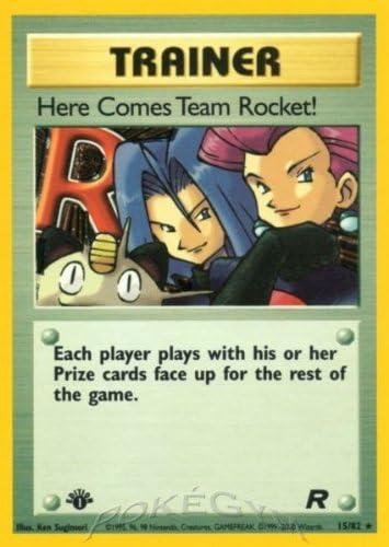 Max 48% OFF Pokemon - Max 43% OFF Here Comes 15 Team Rocket Holo