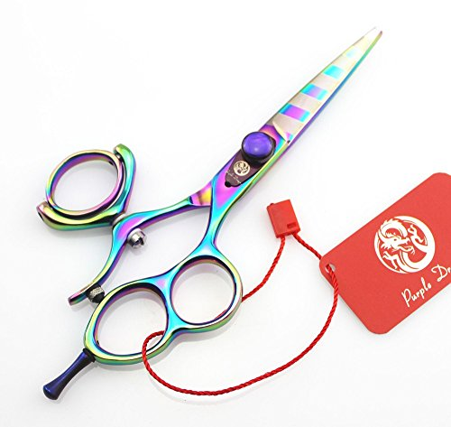 "Tianyu 5.5"" Professional Hair Scissors Barber Hairdressing Scissor Double/Single Swivel Ring Shear"