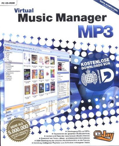 eJay Virtual Music Manager MP3