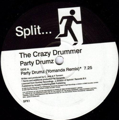 Party Drumz - Crazy Drummer 2X12'