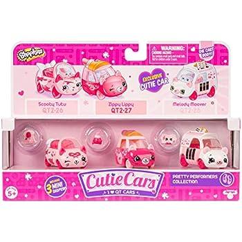 Cutie Cars Shopkins Three Pack - Pretty Perfo | Shopkin.Toys - Image 1