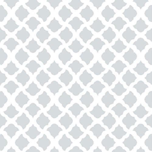 Con-Tact 20F-C9A0A2-06 Creative Covering Self-Adhesive Vinyl Shelf and Drawer Liner, 18' x 20', Talisman Glacier Gray