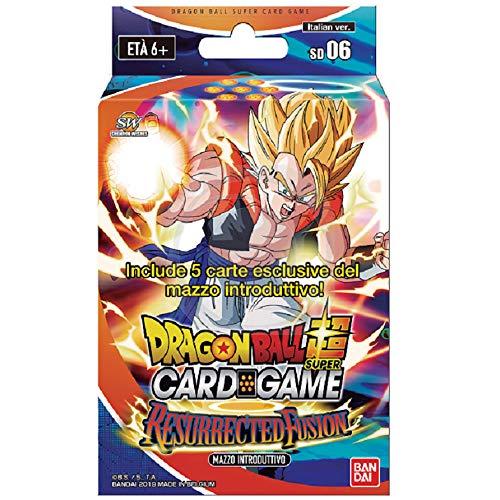 Dragon Ball Super Card Game - Resurrected Fusion - Mazzo Introduttivo 51 Carte - Italiano