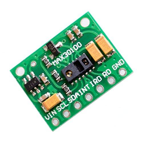 Zkee Shop MAX30100 Pulse Oximeter Heart Rate Sensor Module Compatible for Arduino