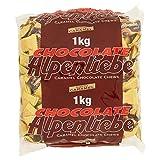 Alpenliebe Caramelle Mou Ripiene di Cioccolato Fondente, Gusto Choco Caramel, Confezione d...
