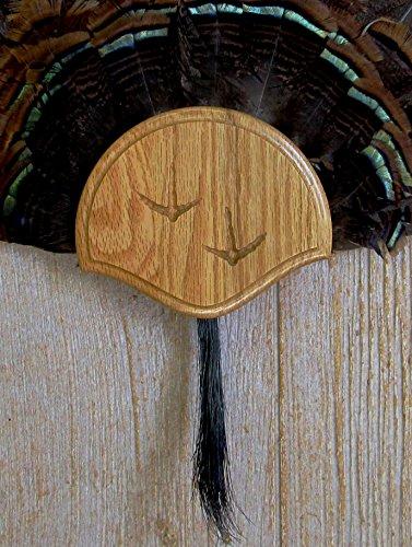 Taxidermists Woodshop The Medium Oak Carved Turkey Mounting Kit -01