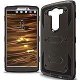 LG V10 Case, CoverON [Tank Series] Hybrid Hard Armor Protective Phone Case for LG V10 - Gray & Black