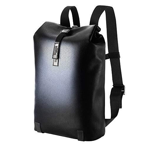 Brooks England Cult Pickwick Reflective Leather 13'' Laptop-Rucksack Black_Black x