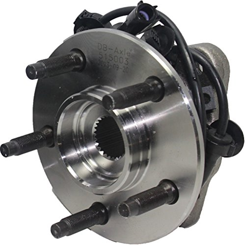 Detroit Axle 515052 Front Driver or Passenger Side Wheel Hub & Bearing Assembly...