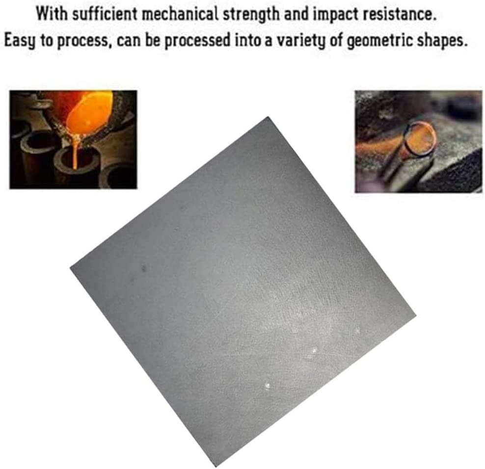 Electrolysis Plate Casting Tools,100mm/×100mm/×1mm,1mm x 100mm x 100mm 3Pcs MHUI 3Pcs High Pure Carbon Graphite Sheet for Electrode