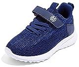 Gaatpot Niñas Zapatillas Deportivas Niño Zapatillas de Running Casual Transpirables Calzado de Running Correr para Exterior Interior Azul 24 EU