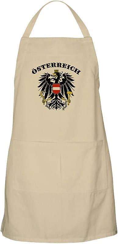 CafePress Osterreich Austria Apron Kitchen Apron With Pockets Grilling Apron Baking Apron