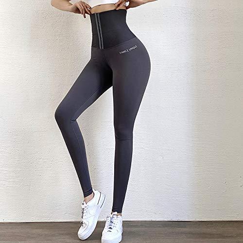 MILASIA Pantalones Deportivos de Cintura Fina para Mujer, Pantalones Deportivos para Correr con Cintura súper Alta, Pantalones Deportivos Profesionales para Yoga