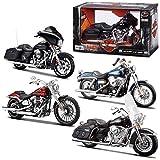 Dos Mac Motocicletas Harley Davidson Modelo 1:12 32320 , Modelos/colores Surtidos, 1 Unidad