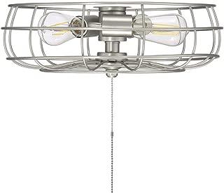 Savoy House Ratcliffe 15.75 inch 3-Light Fan Light kit in Satin Nickel