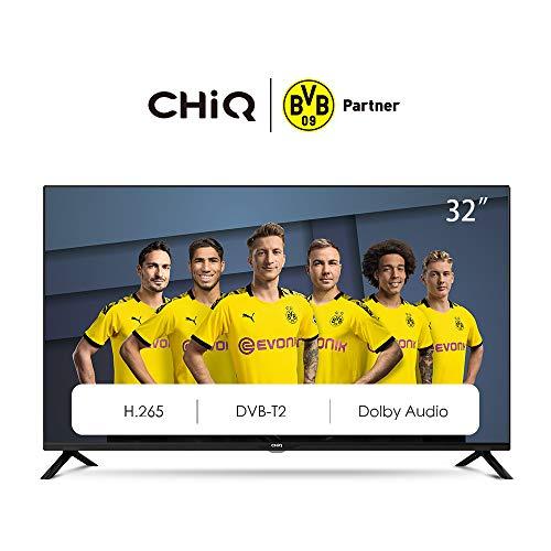 CHiQ L32G4500 - Televisor 32 Pulgadas HD, 2 x HDMI, USB, HD, Sintonizador Triple (DVBT / T2 / C / S2)