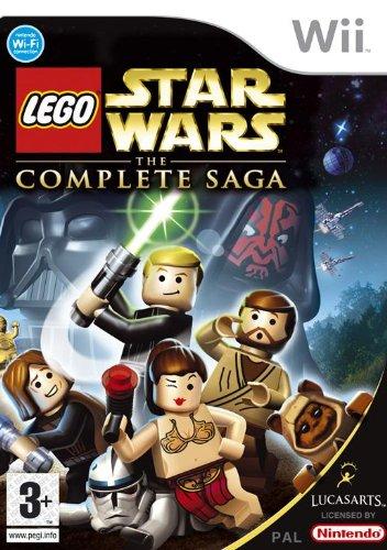 Nintendo LEGO Star Wars: The Complete Saga, Wii Básico Nintendo Wii vídeo - Juego (Wii, Nintendo Wii, Acción, Modo multijugador, E (para todos))