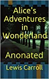 Alice's Adventures in Wonderland - Anonated (English Edition) - Format Kindle - 2,67 €