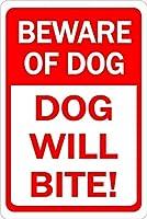 犬の用心犬は目に見えないフェンスに囲まれています メタルポスタレトロなポスタ安全標識壁パネル ティンサイン注意看板壁掛けプレート警告サイン絵図ショップ食料品ショッピングモールパーキングバークラブカフェレストラントイレ公共の場ギフト