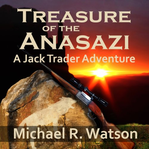 Treasure of the Anasazi audiobook cover art