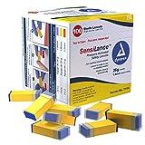 Dynarex Sensilance Safety Lancets (7114), 26 Gauge, Sterile, 1000 Count