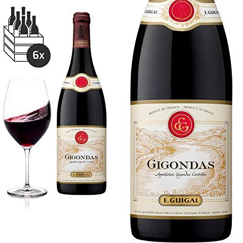 6er Karton 2015 Gigondas von E.Guigal - Rotwein