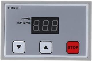 Buwei Pantalla Digital 0~100% Ajustable DC 12V 24V 5A 120W PWM Regulador de Velocidad del Motor Regulador Reversible Velocidad Variable Arranque Lento