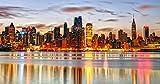 Nonebranded Rompecabezas Rompecabezas 1000 Piezas De Bricolaje Paisaje Romántico De La Ciudad De Nueva York Niño Adulto