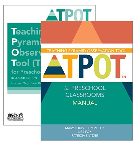 Teaching Pyramid Observation Tool (TPOT™) for Preschool Classrooms Set, Research Edition