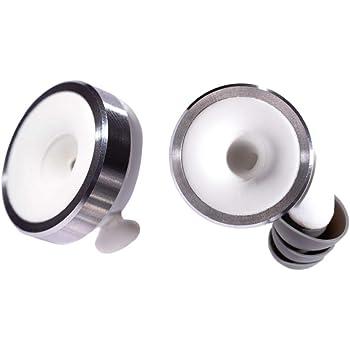 Knops Original White - Protezione per le orecchie con 4 diverse regolazioni di filtro