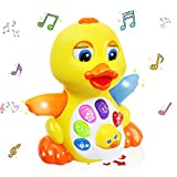 MOONTOY Singing Dancing Duck Toy...