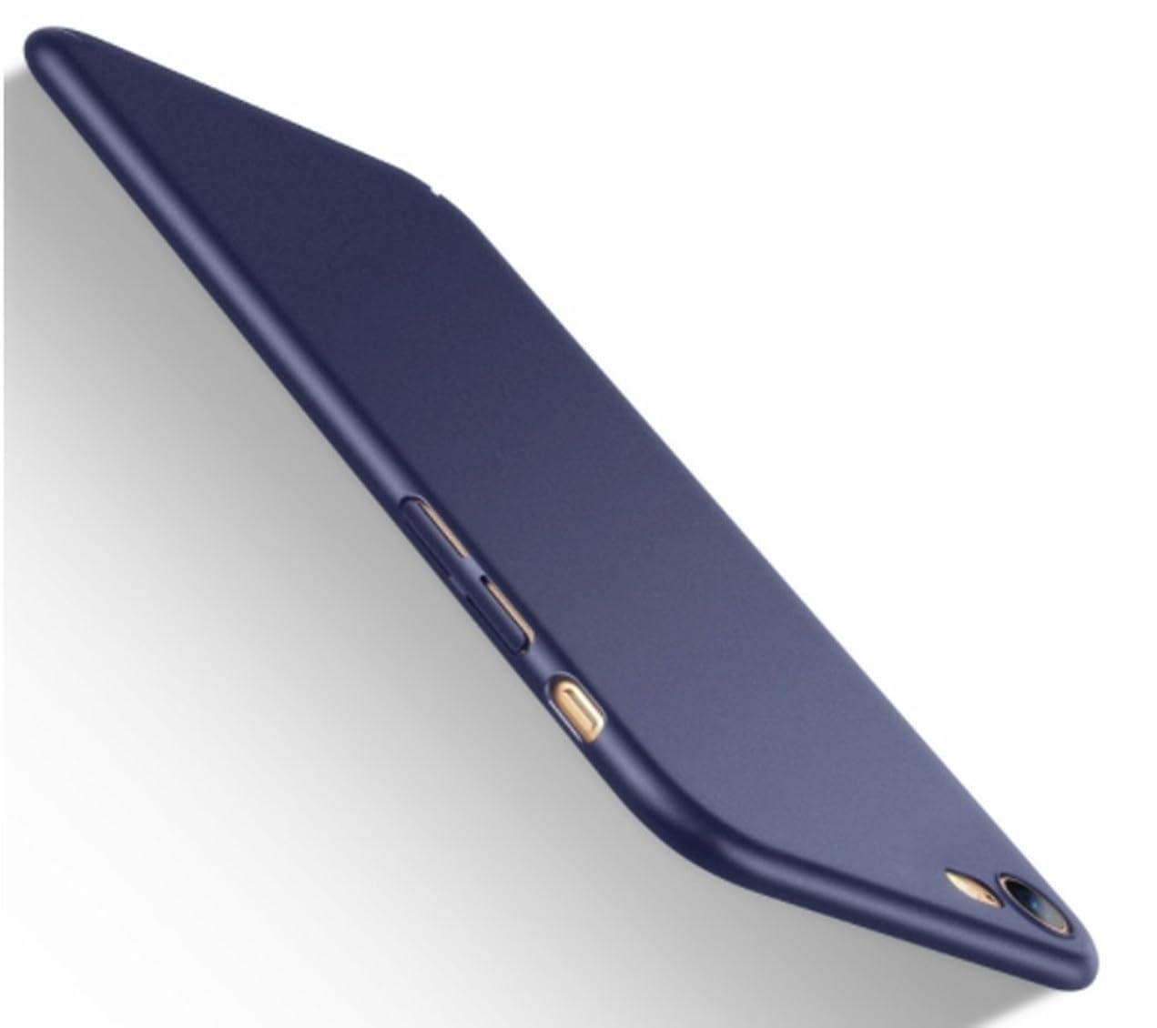 付けるいろいろ見せますiPhone8 ケース iPhone7ケース [ 薄型 軽量 ] [ ワイヤレス充電対応 ] [ レンズ保護 耐衝撃 指紋防止 ] 【改良型 ストラップホール付き ストラッププレゼント】 PC 全面保護 アイフォン8ケース アイフォン7ケース カバー (iPhone8/iPhone7, ブルー)