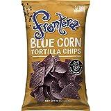 FRONTERA Indigo Blue Corn Tortilla Chips, Organic Blue Corn, Non-GMO, Small Batch, 10 oz.