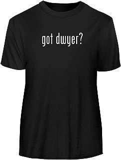 One Legging it Around got Dwyer? - Men's Funny Soft Adult Tee T-Shirt