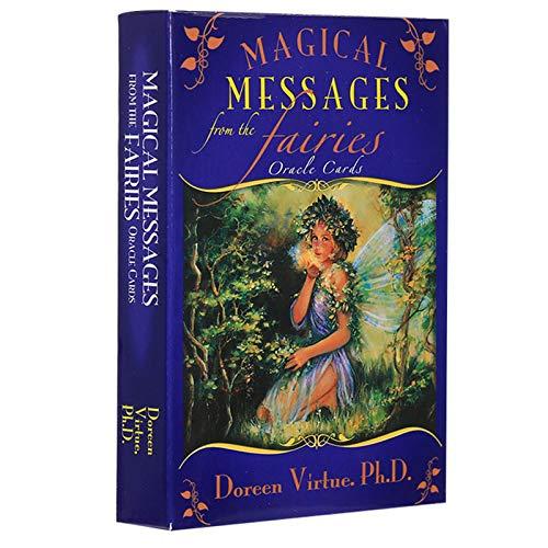 BSWL 44 Tarjetas/Magic Fairy Goddass Oracle Tarjeta, Predecir Future Fate, Juego Casual Jugar Tarjetas Inglés Divinación Tarjetas Tarjetas Tarotes