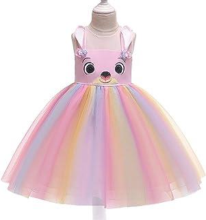 BCSHF Vestido de Princesa de Las niñas Los niños Vestido de Princesa Vestido de la Historieta del Vestido de la Princesa d...