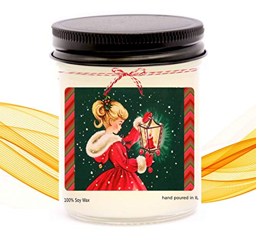 Vintage christmas gifts,vintage gift ideas,retro gifts,retro candles,christmas village,merry christmas,gift for granddaughter,vintage decor,vintage christmas,christmas vintage,christmas candles