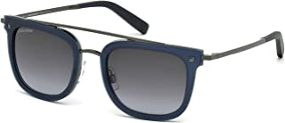 DSquared DQ0201/S 5291W Navy Square Sunglasses for Womens